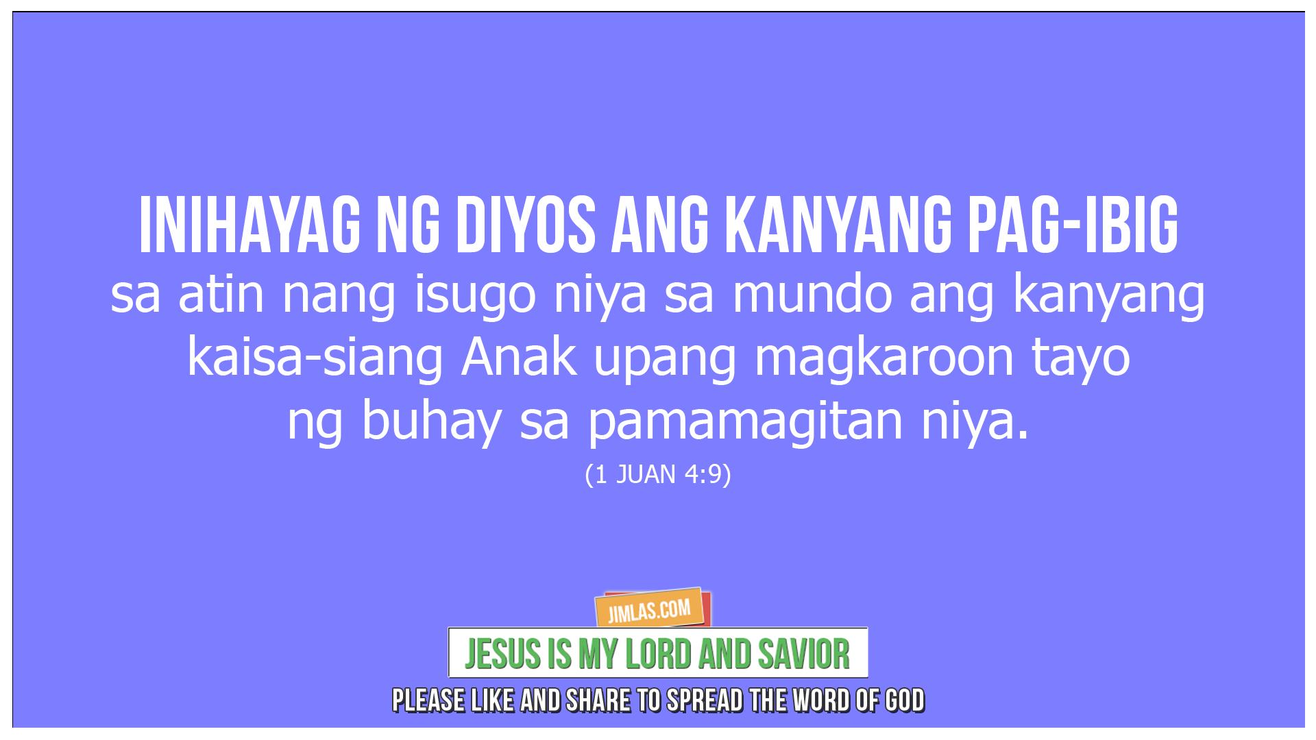 1 juan 4 9, 1 Juan 4:9