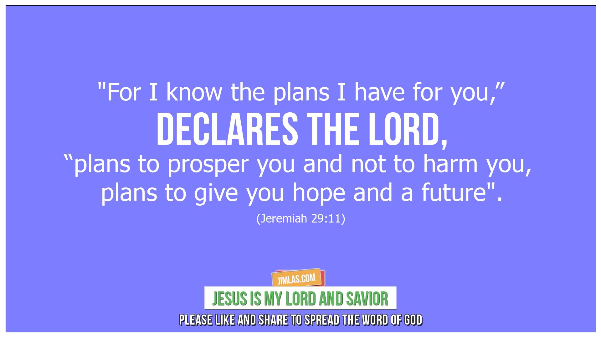 jeremiah 29 11, Jeremiah 29:11
