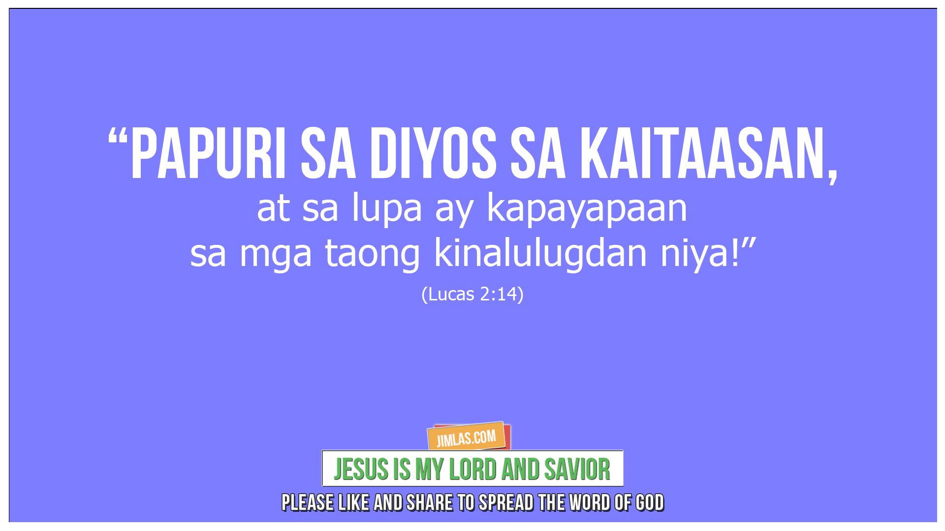lucas 2 14, Lucas 2:14