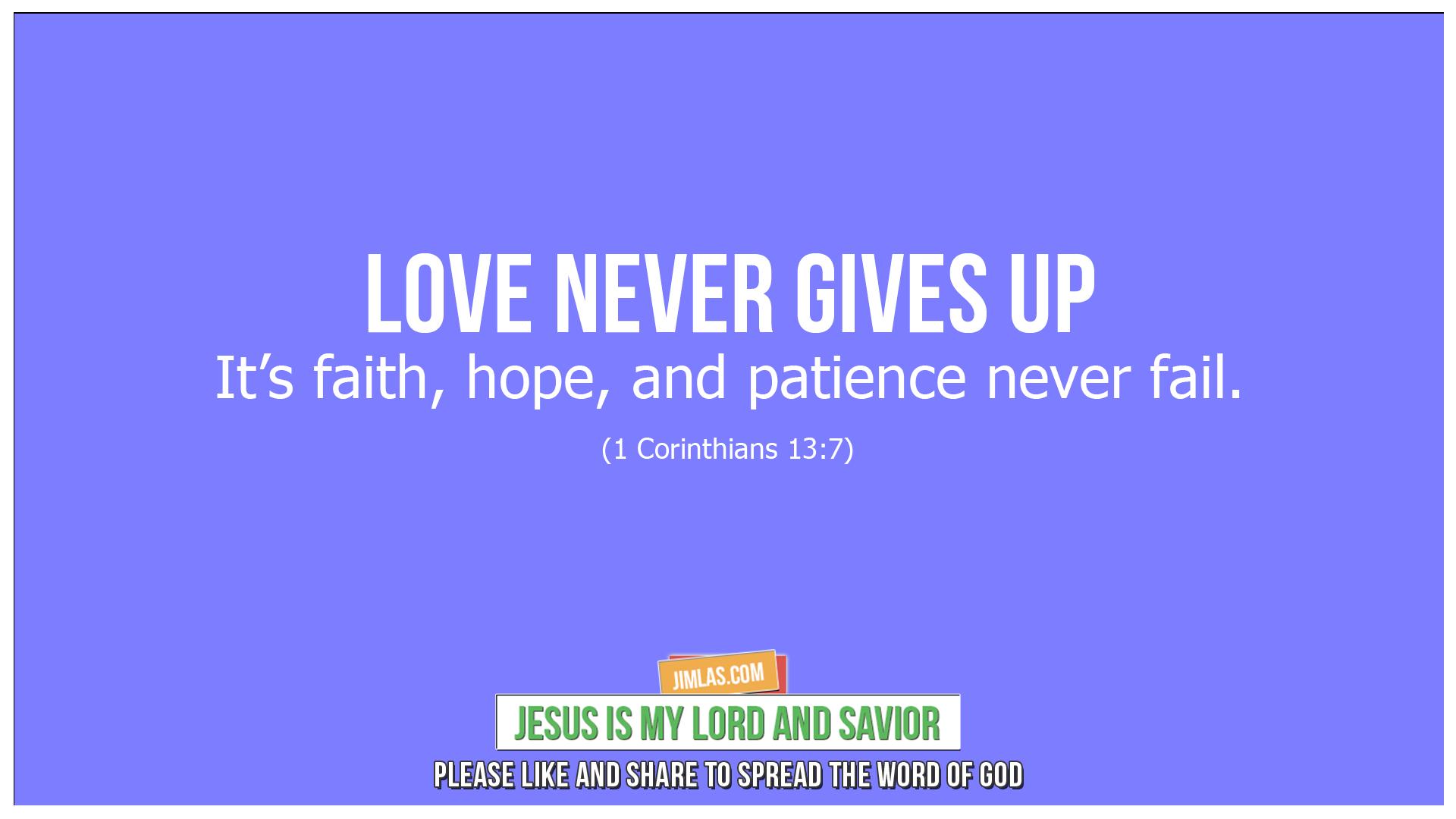 1 corinthians 13 7, 1 Corinthians 13:7