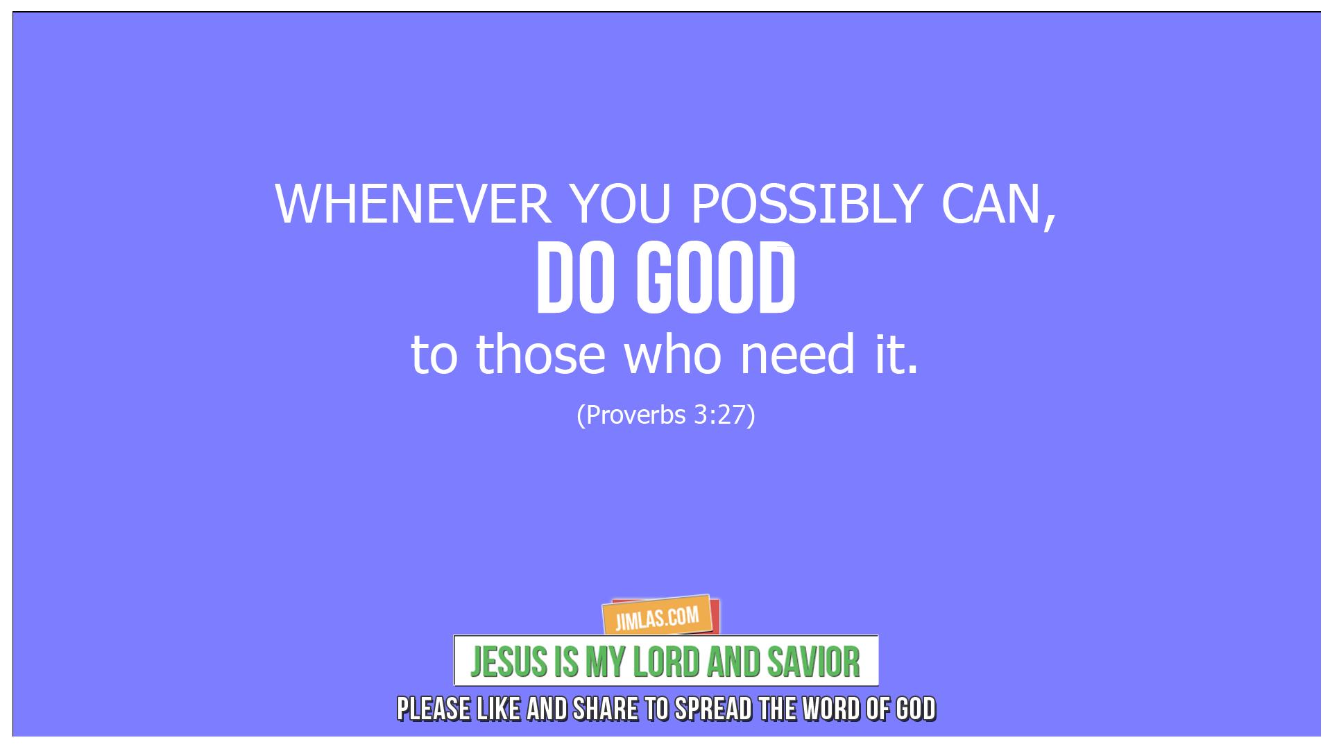 proverbs 3 27, Proverbs 3:27