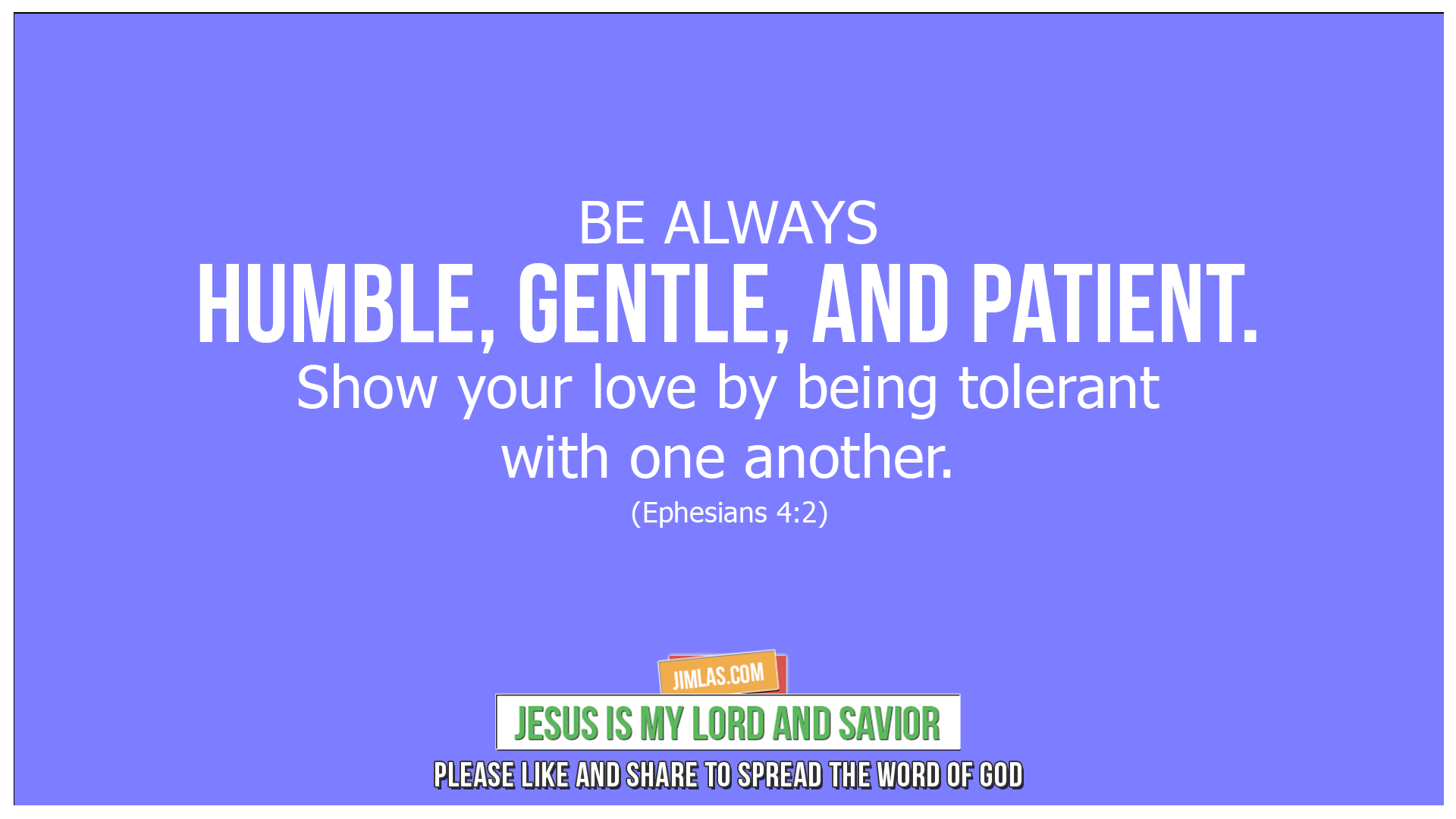 ephesians 4 2, Ephesians 4:2