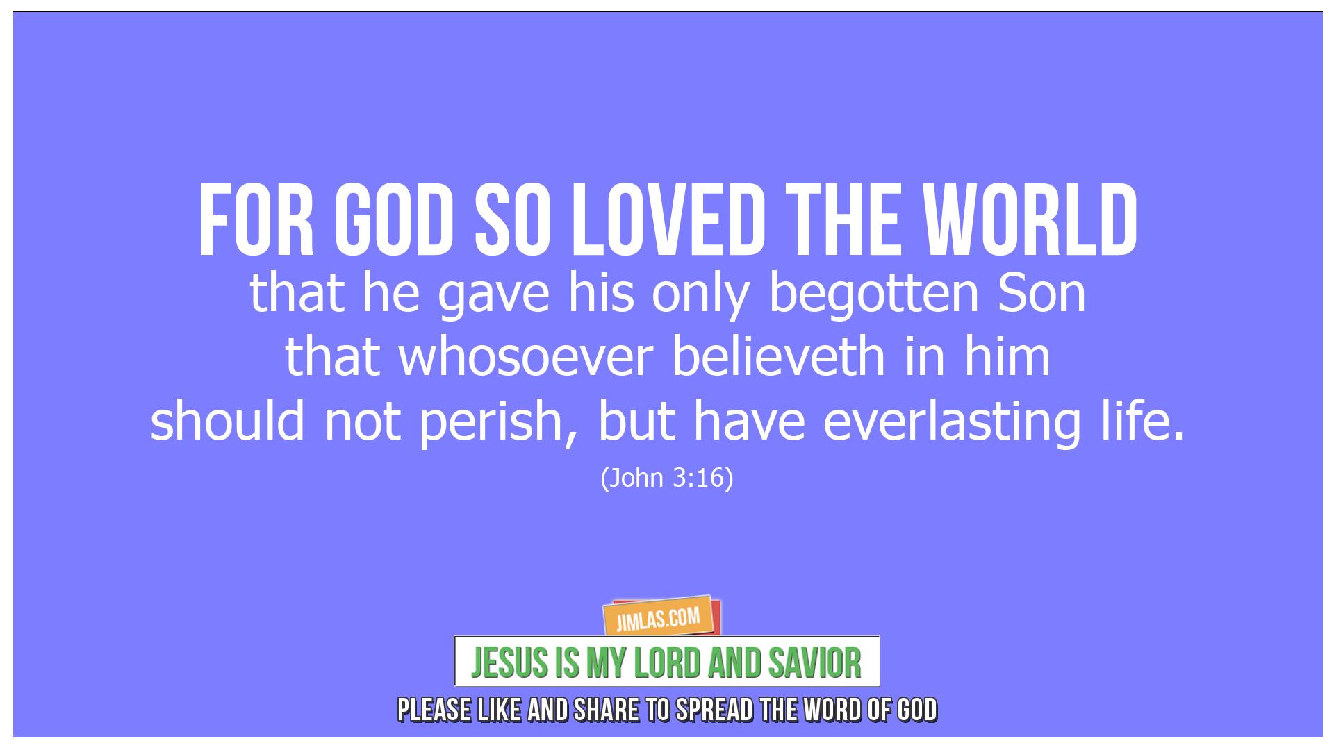 john 3 16, John 3:16
