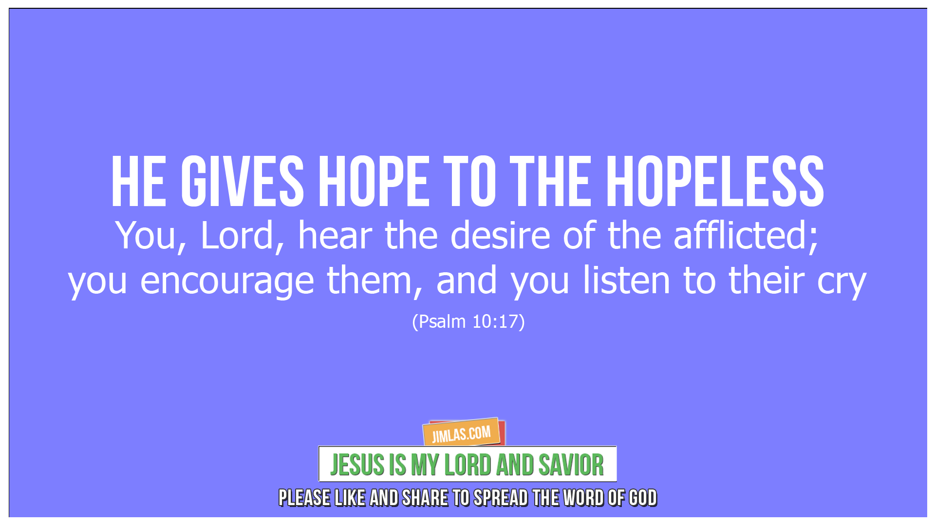psalm 10 17, Psalm 10:17