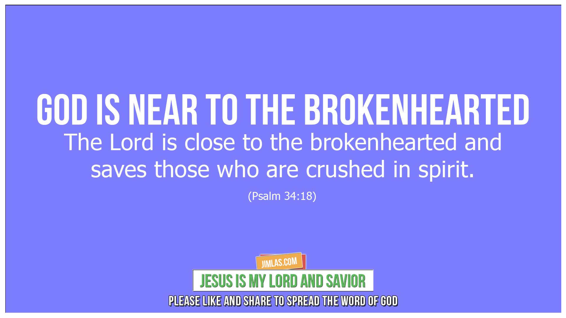psalm 34 18, Psalm 34:18