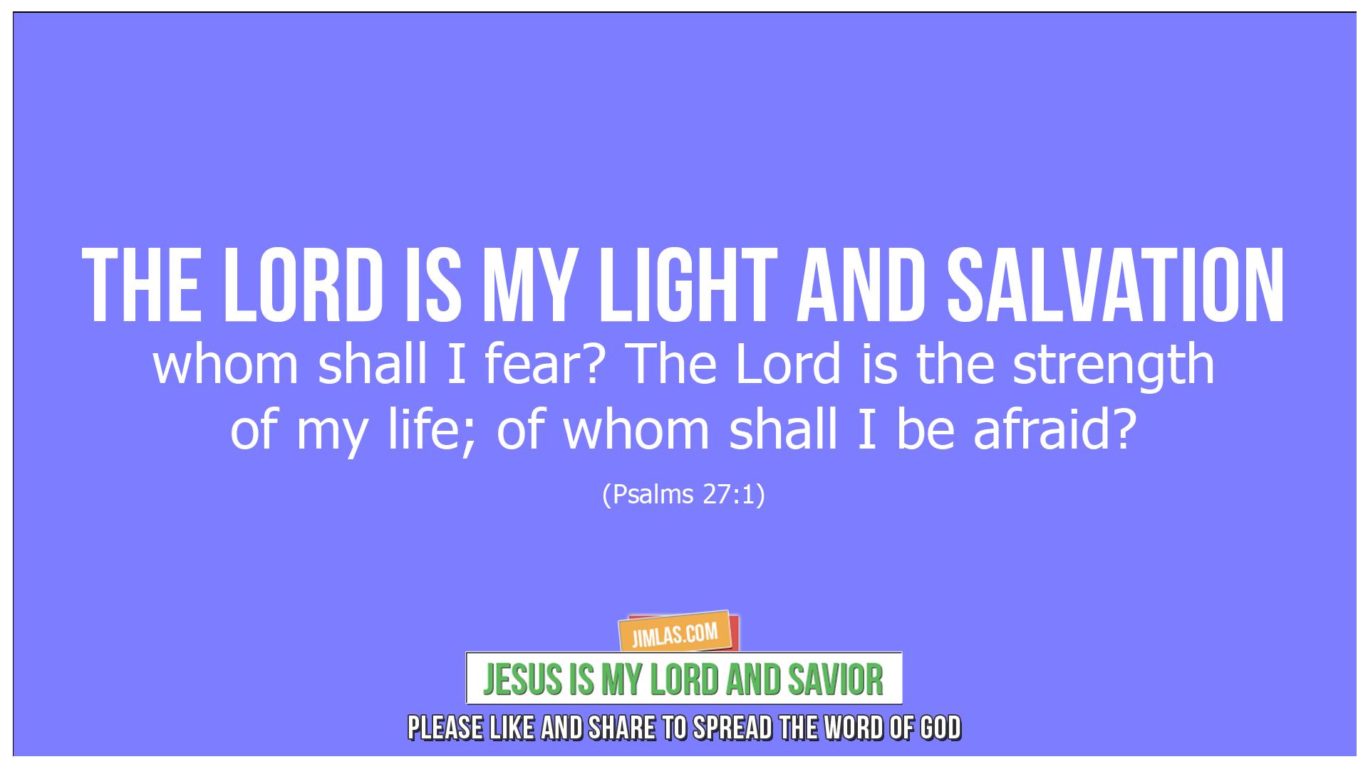 psalms 27 1, Psalms 27:1