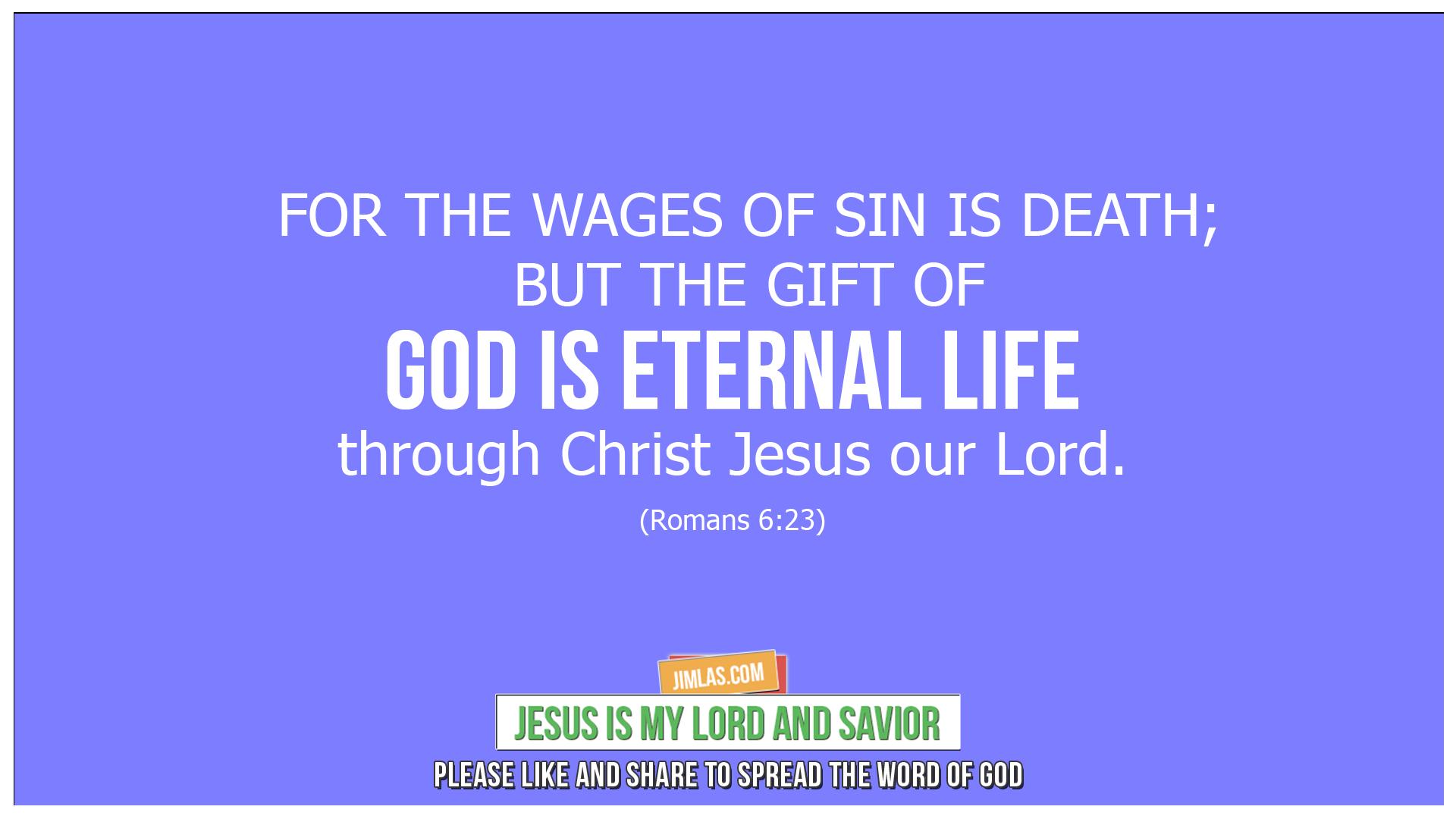 romans 6 23, Romans 6:23