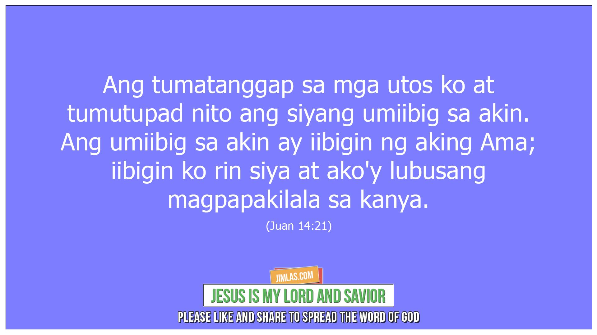 juan 14 21, Juan 14:21