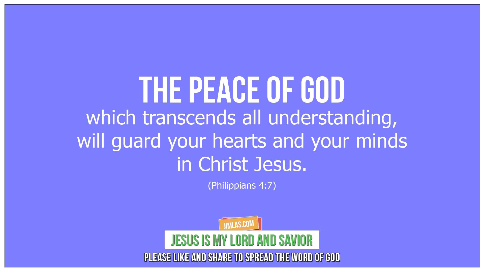 philippians 4 7, Philippians 4:7