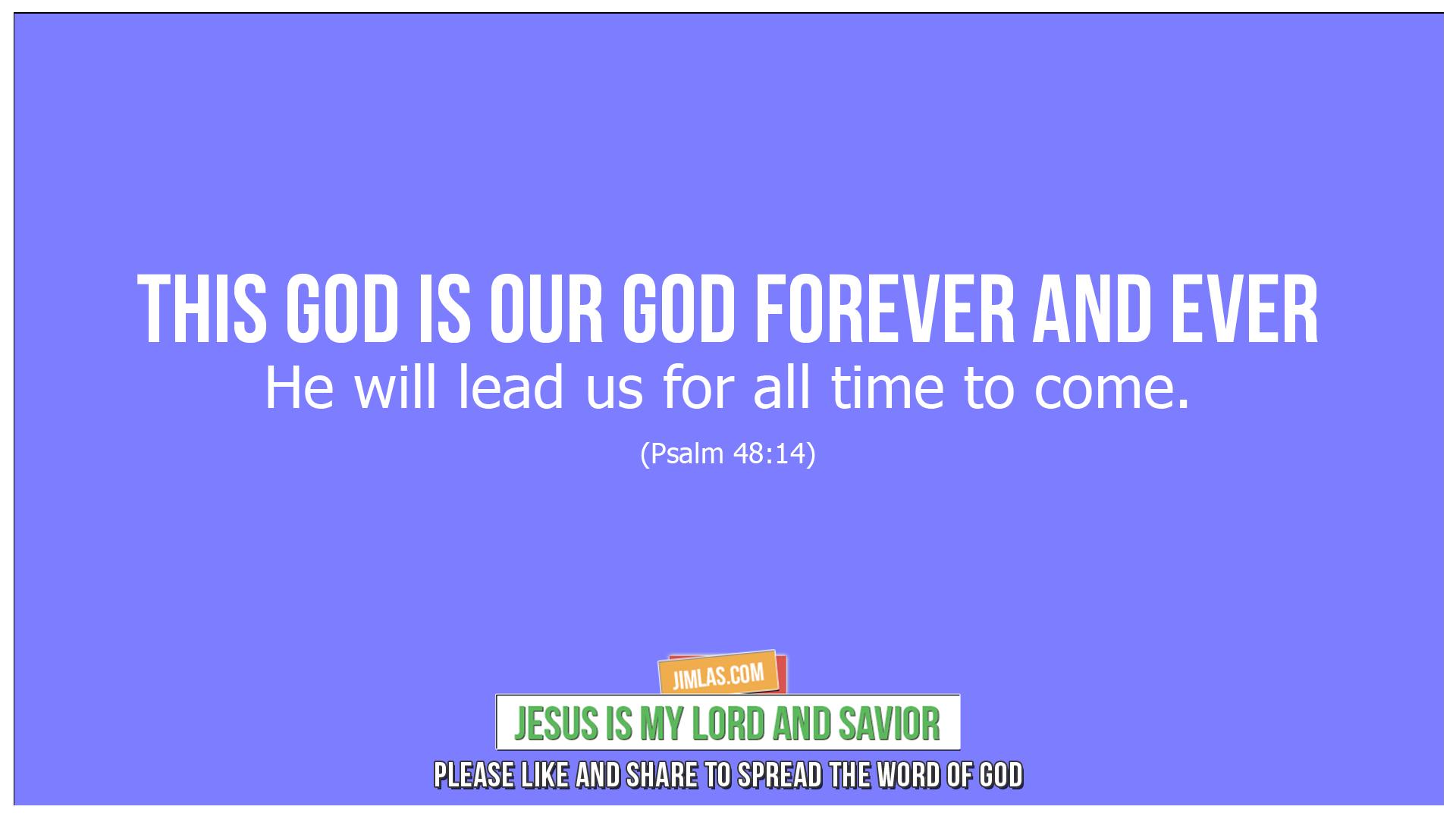 psalm 48 14, Psalm 48:14