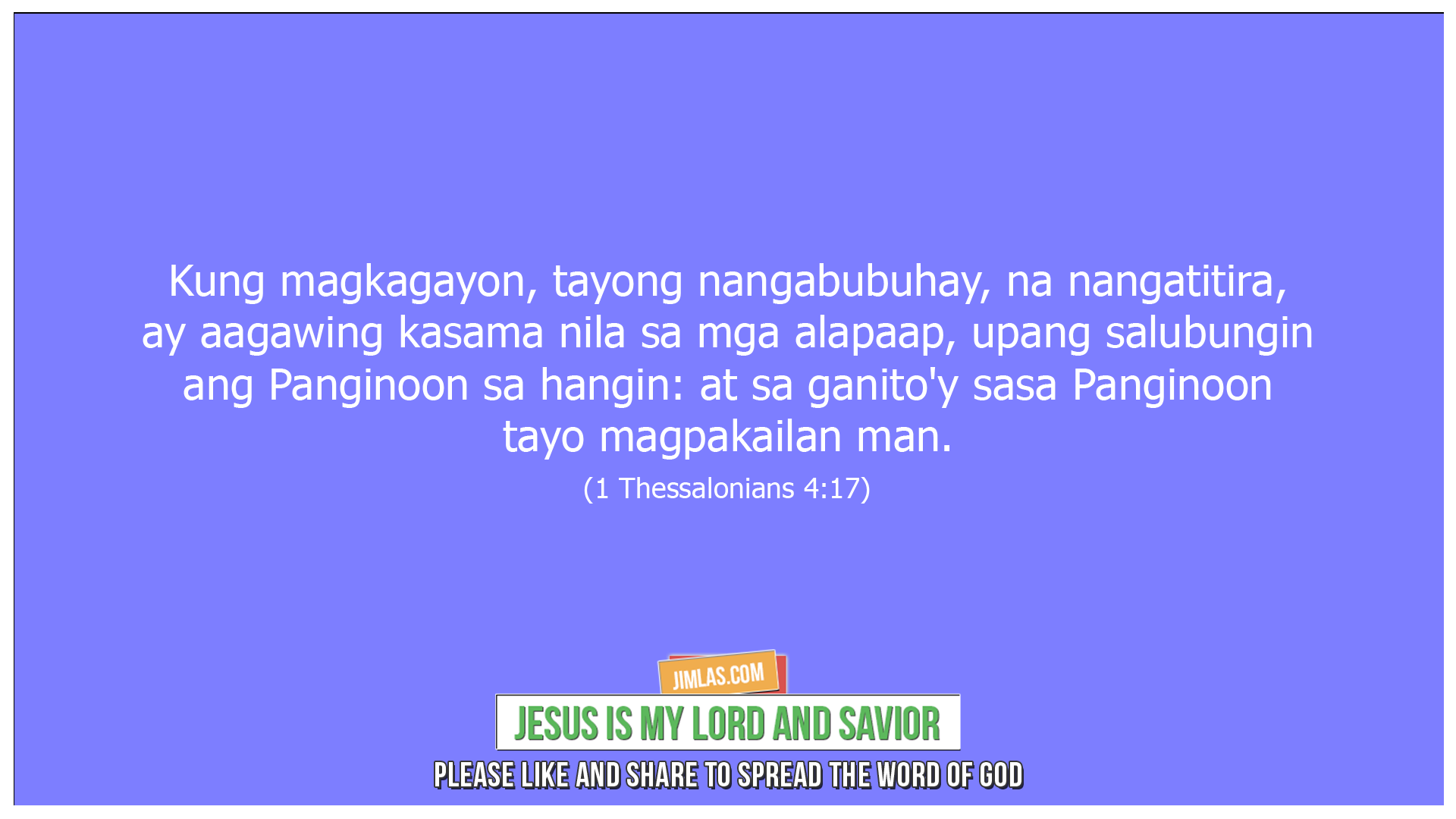 1 Tesalonica 4:17