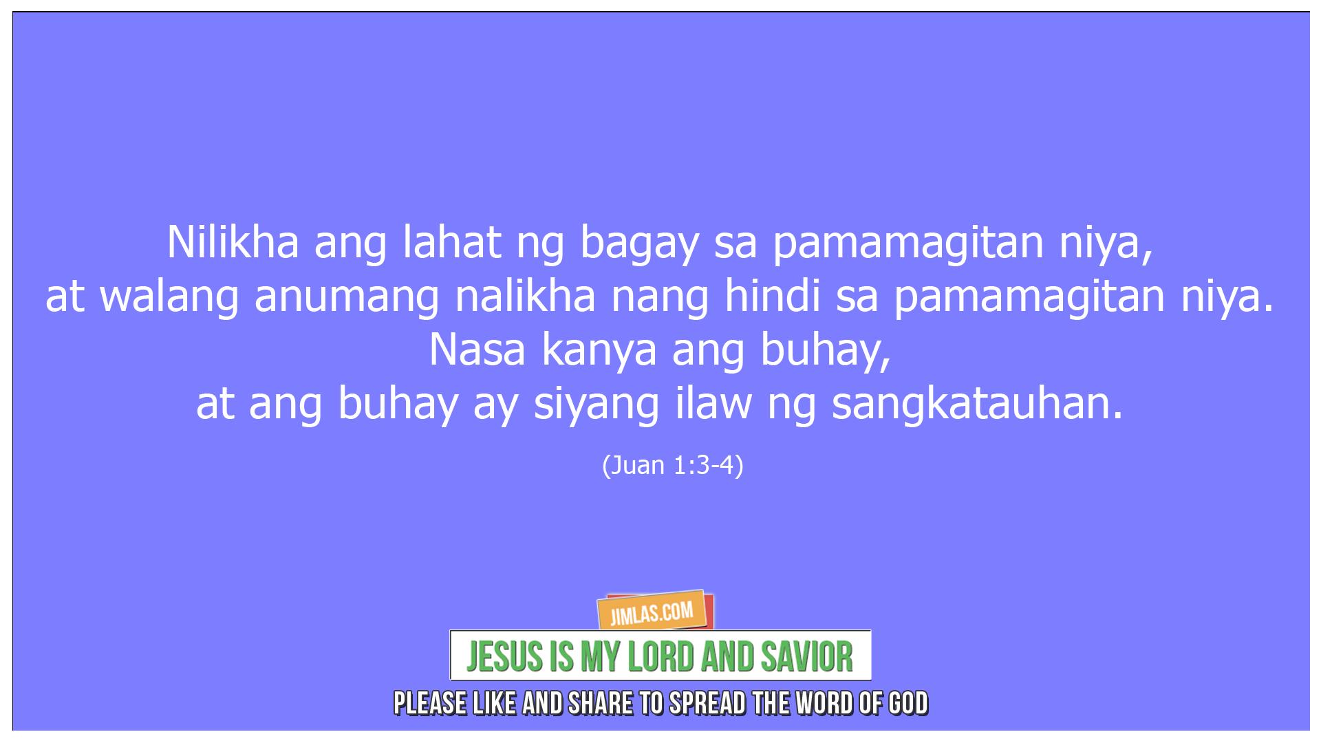Juan 1 3-4, Juan 1:3-4