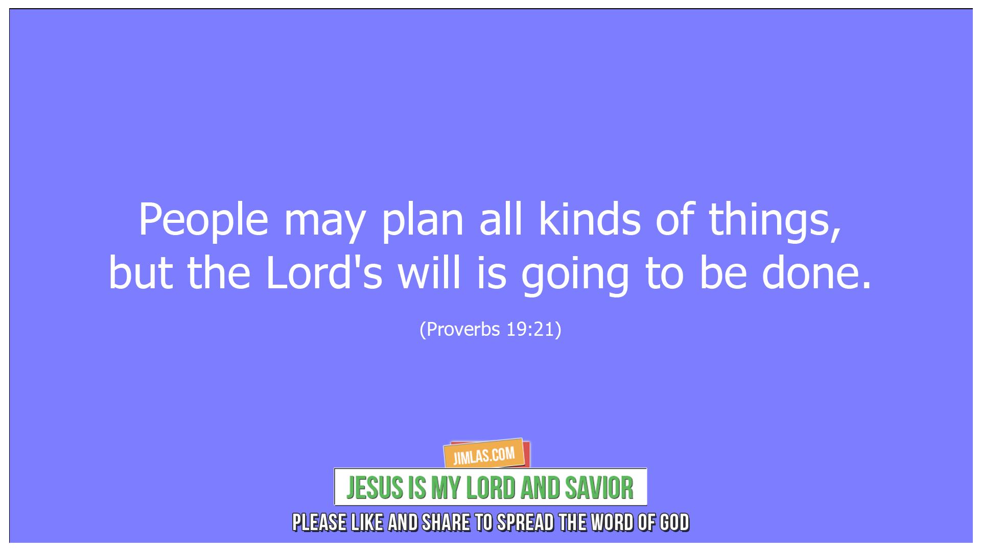 Proverbs 19 21, Proverbs 19:21
