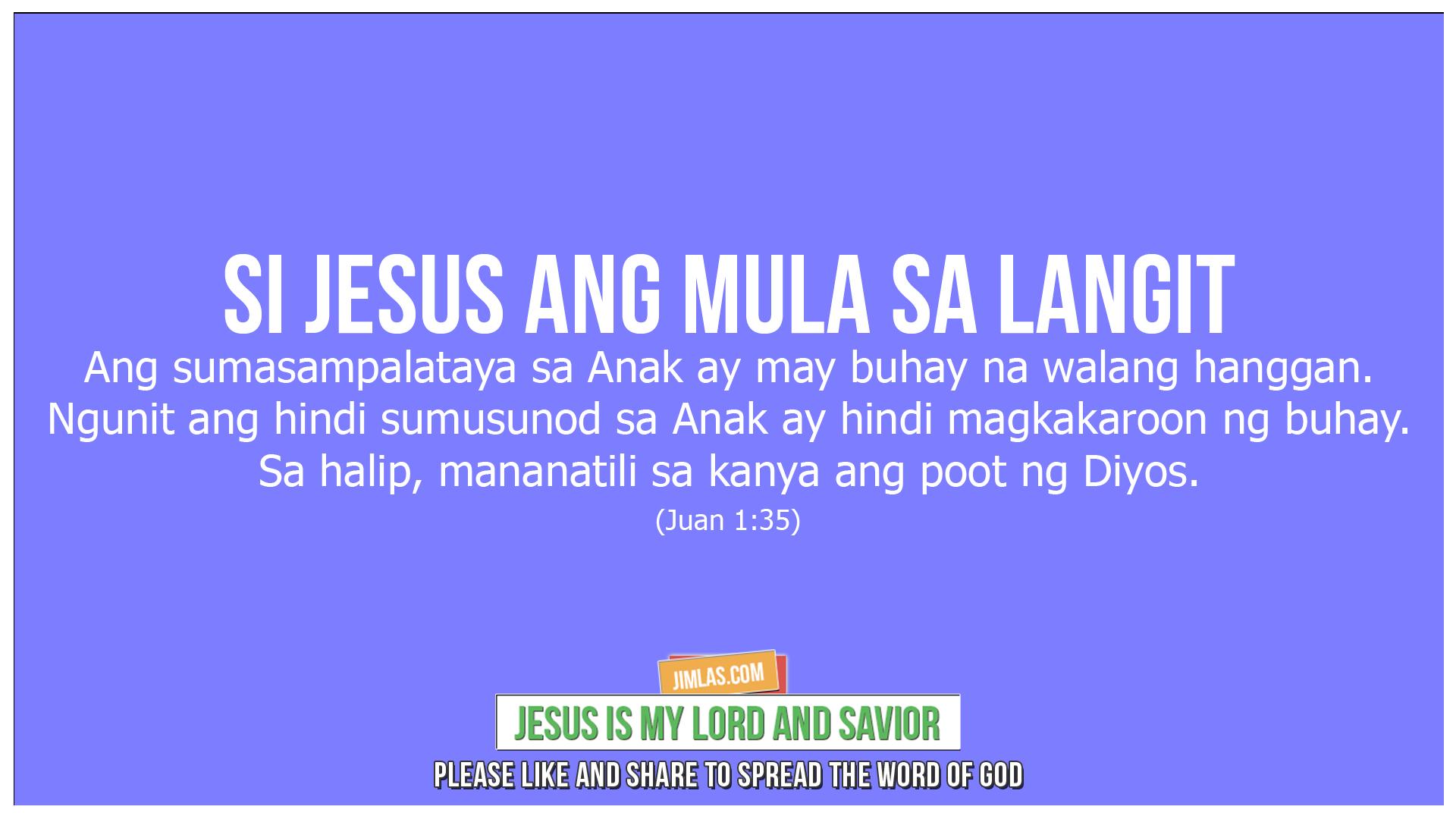 Juan 3-36, Juan 3:36