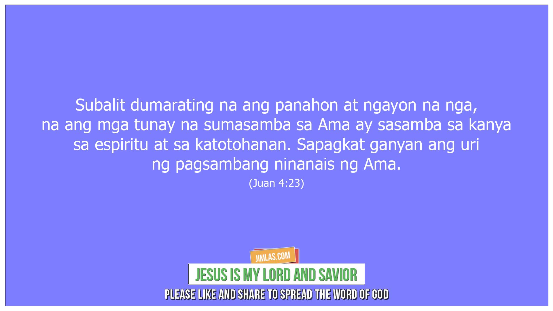 Juan 4 23, Juan 4:23