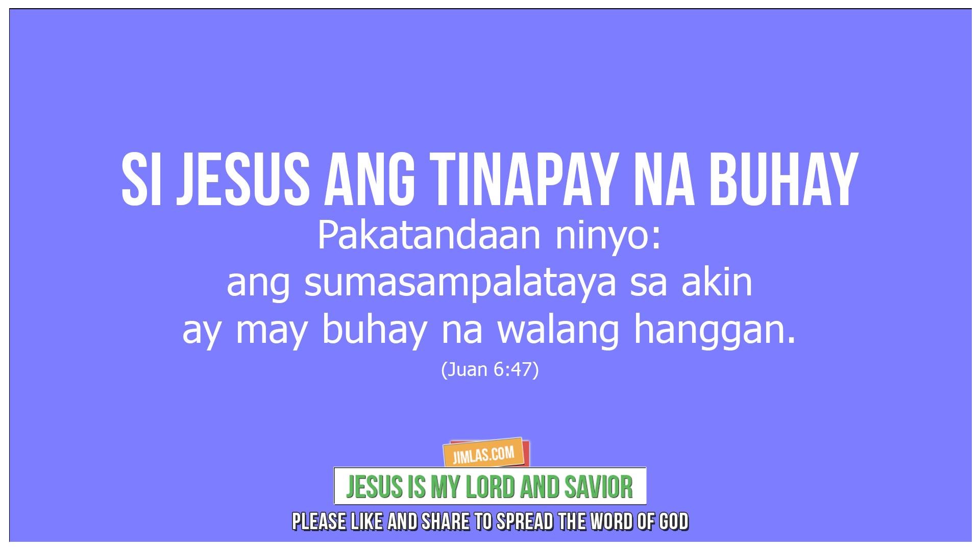 Juan 6 47, Juan 6:47