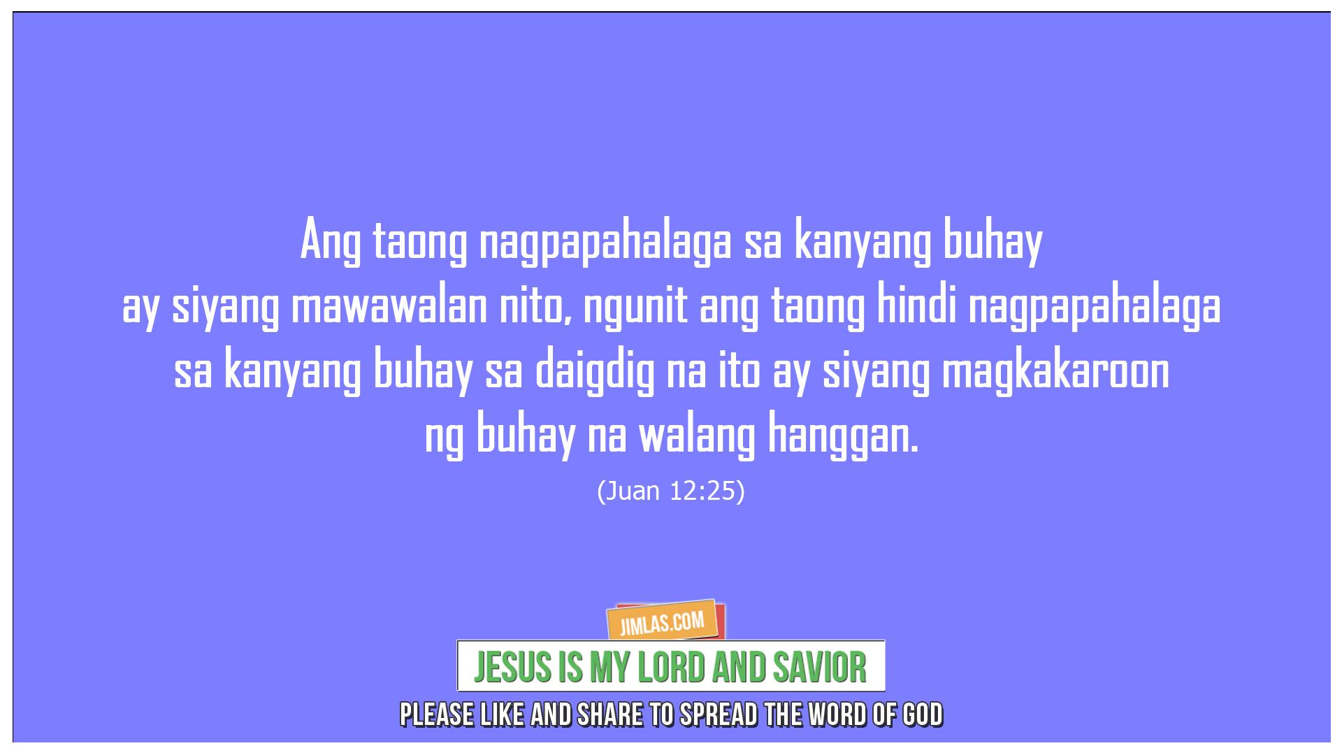 Juan 12 25, Juan 12:25