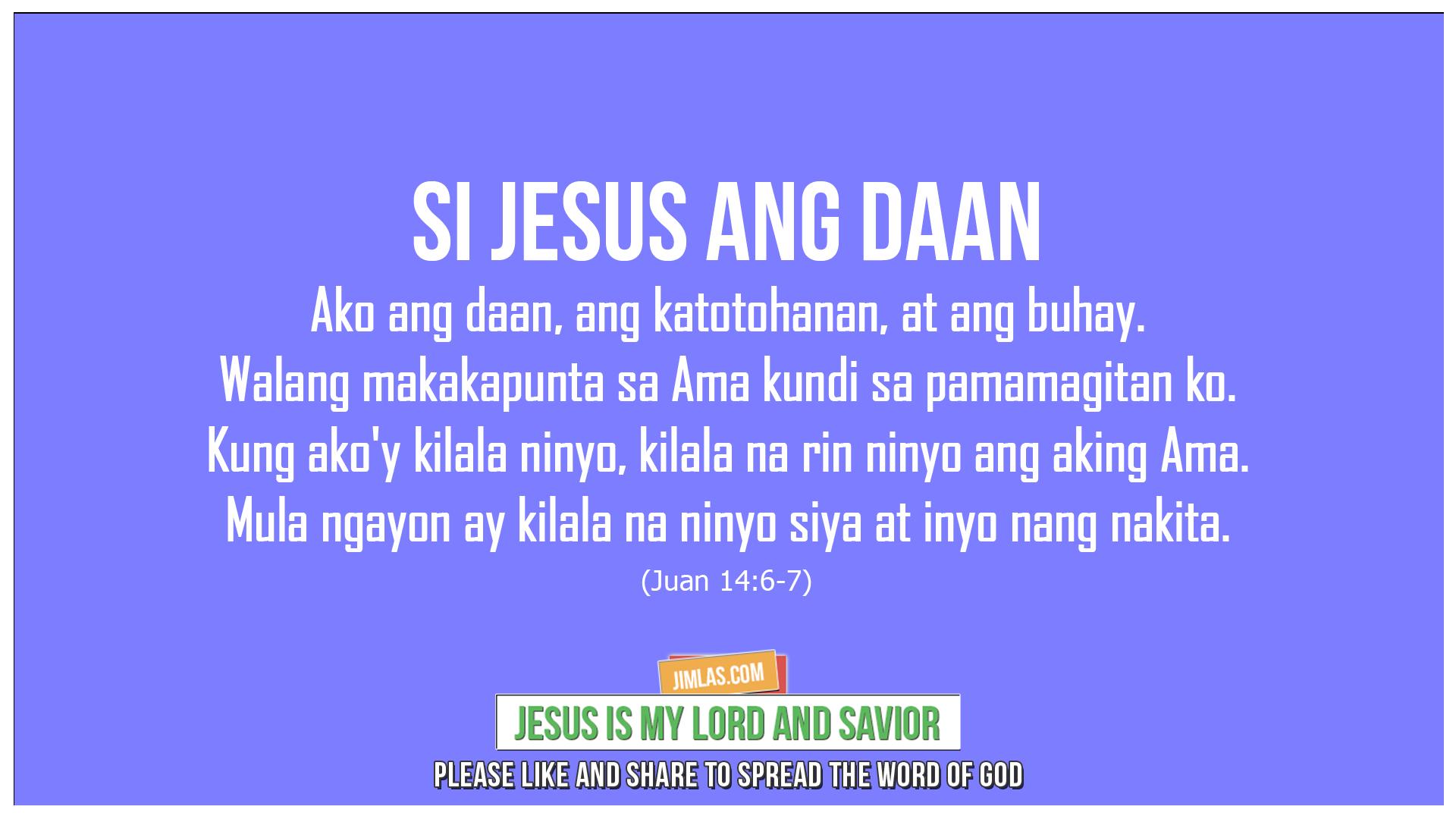 Juan 14 6-7, Juan 14:6-7
