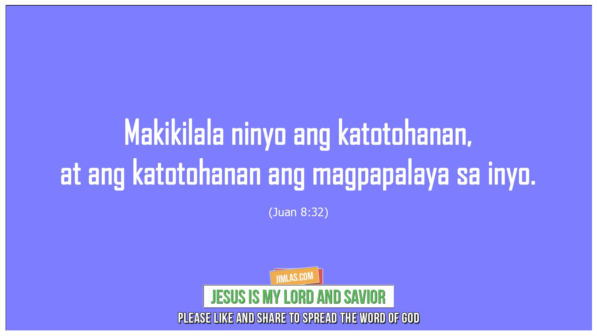 Juan 8 32, Juan 8:32