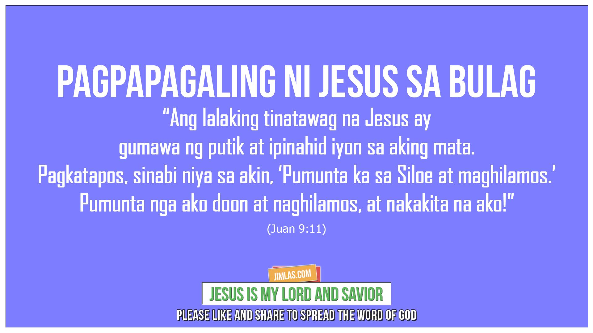 Juan 9 11, Juan 9:11