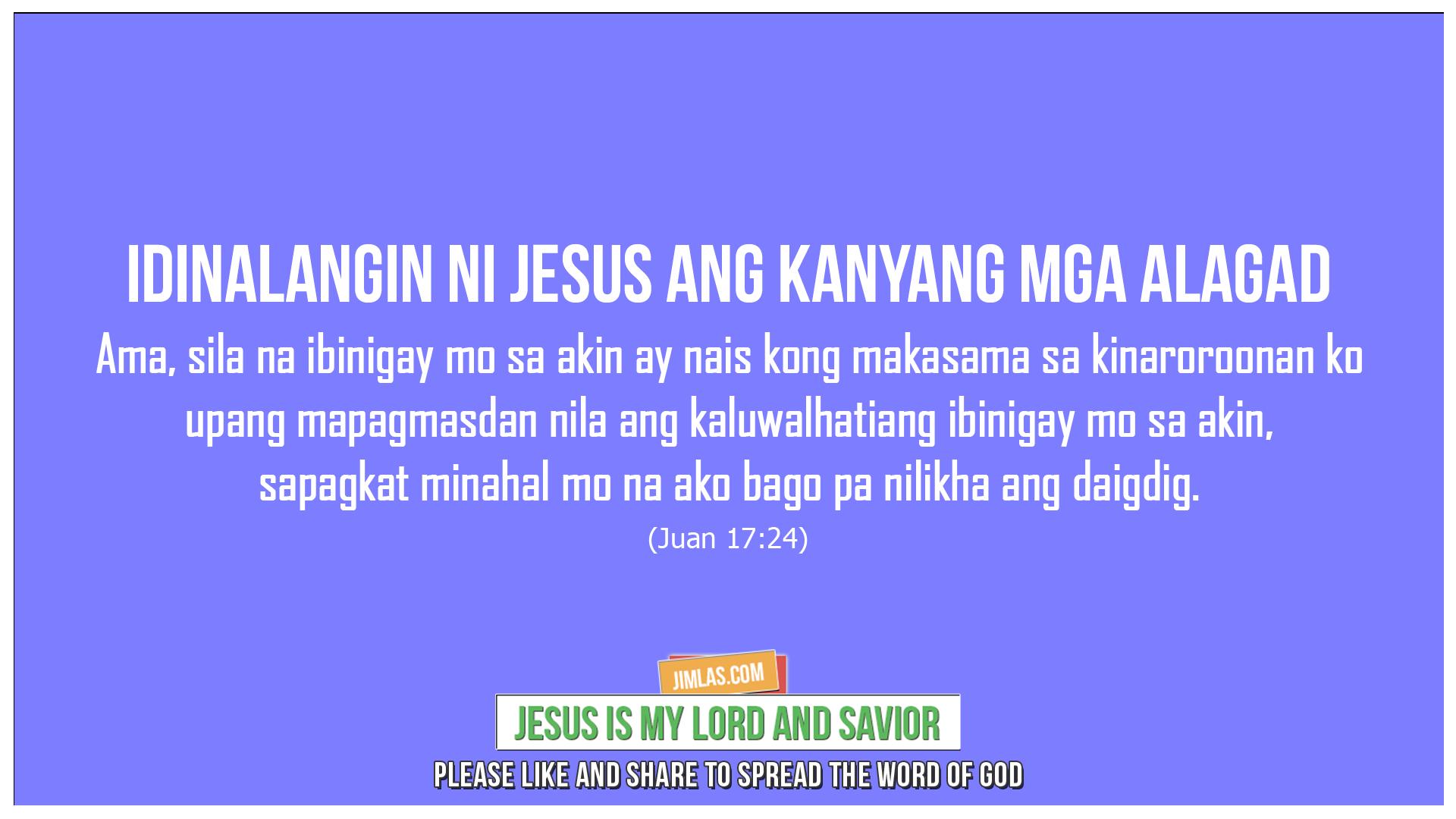 Juan 17:24, Juan 17:24