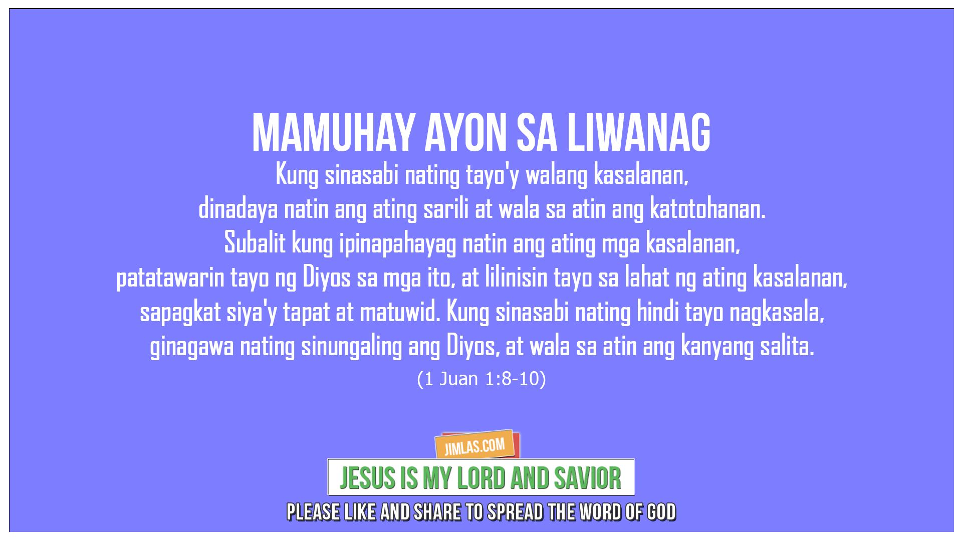 1 Juan 1:8-10, 1 Juan 1:8-10