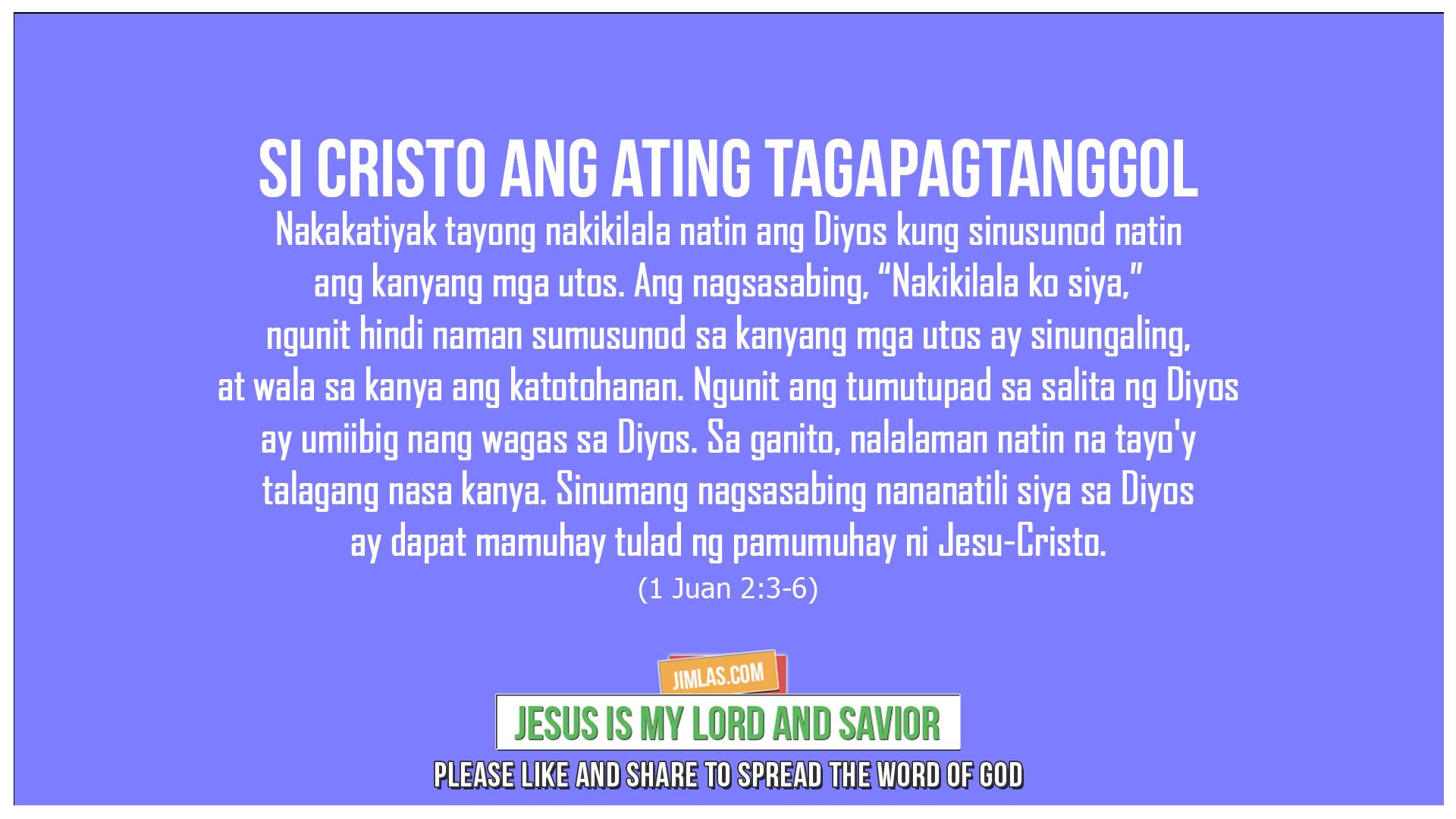 1 Juan 2:3-6, 1 Juan 2:3-6