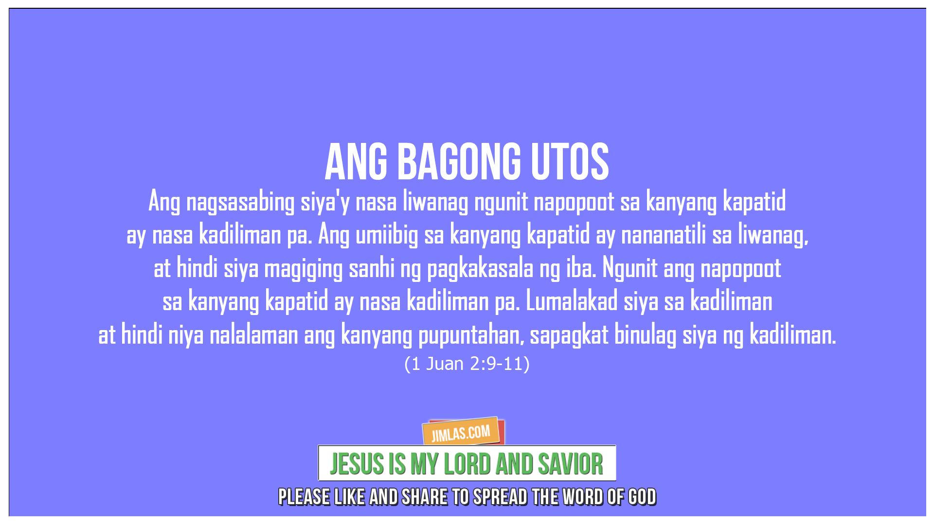 1 Juan 2:9-11, 1 Juan 2:9-11