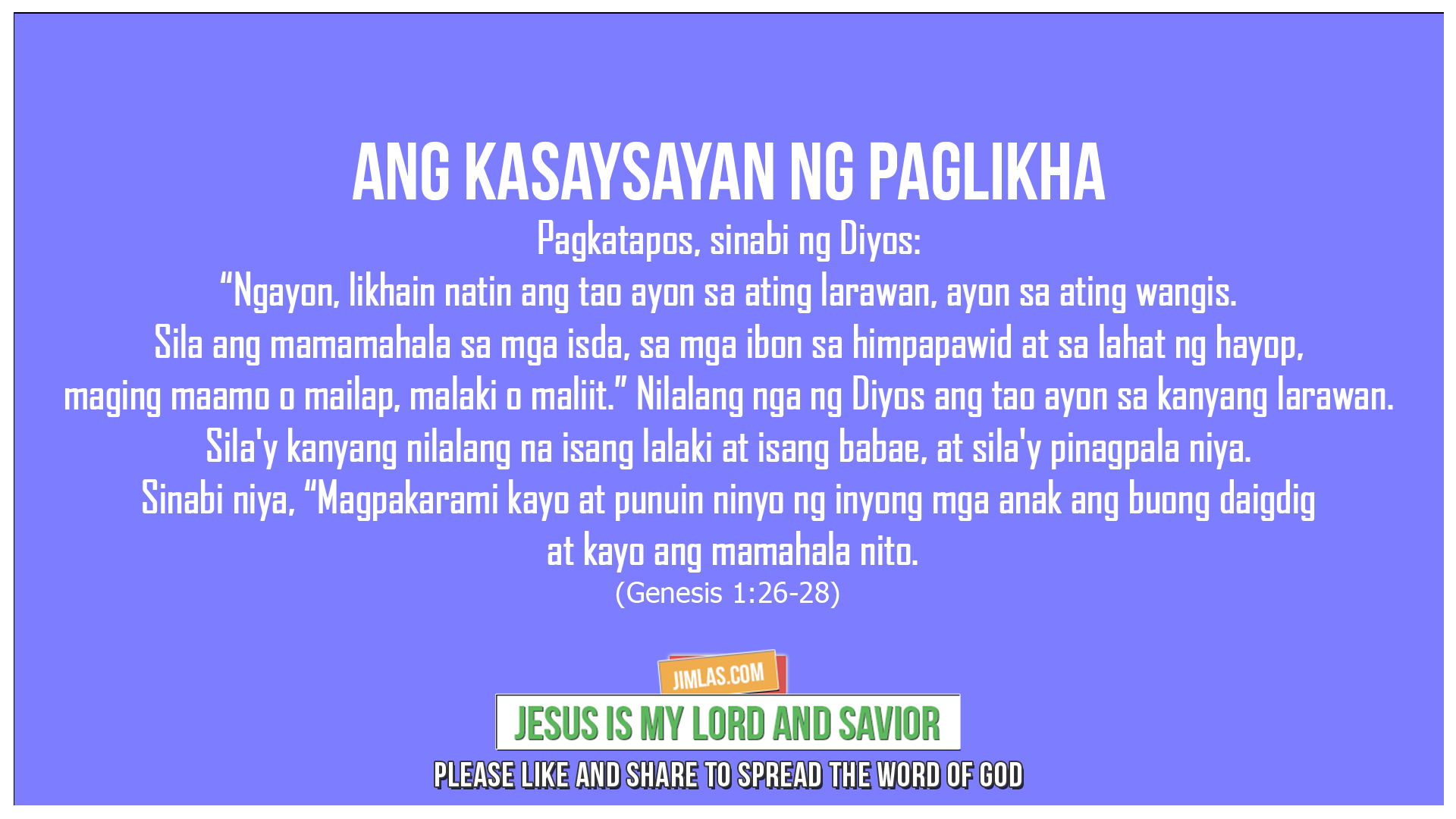 Genesis 1:26-28, Genesis 1:26-28