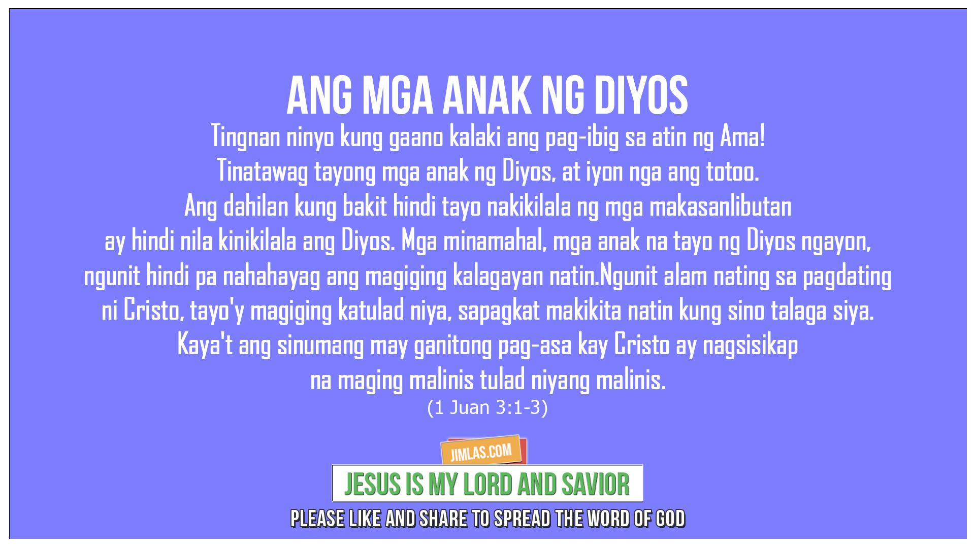 1 Juan 3:1-3, 1 Juan 3:1-3