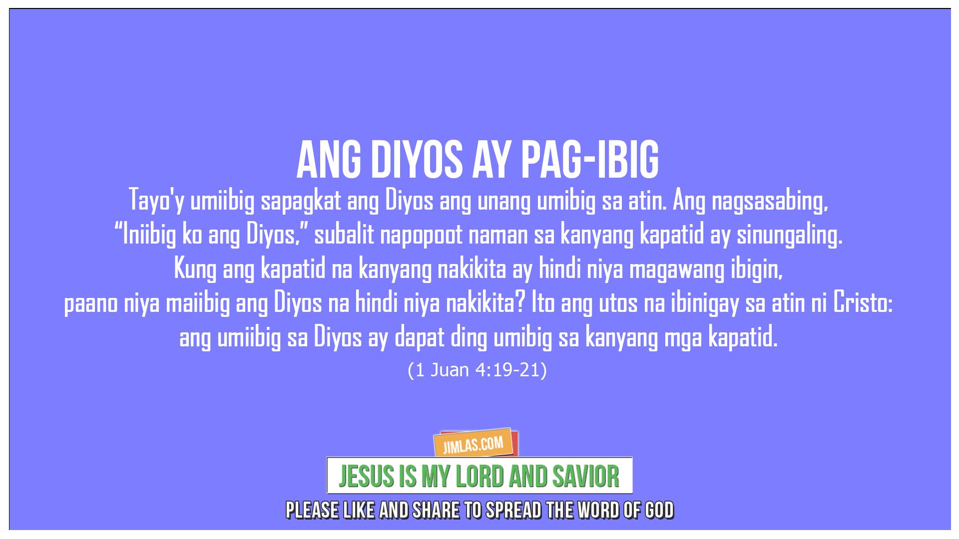 1 Juan 4:19-21, 1 Juan 4:19-21