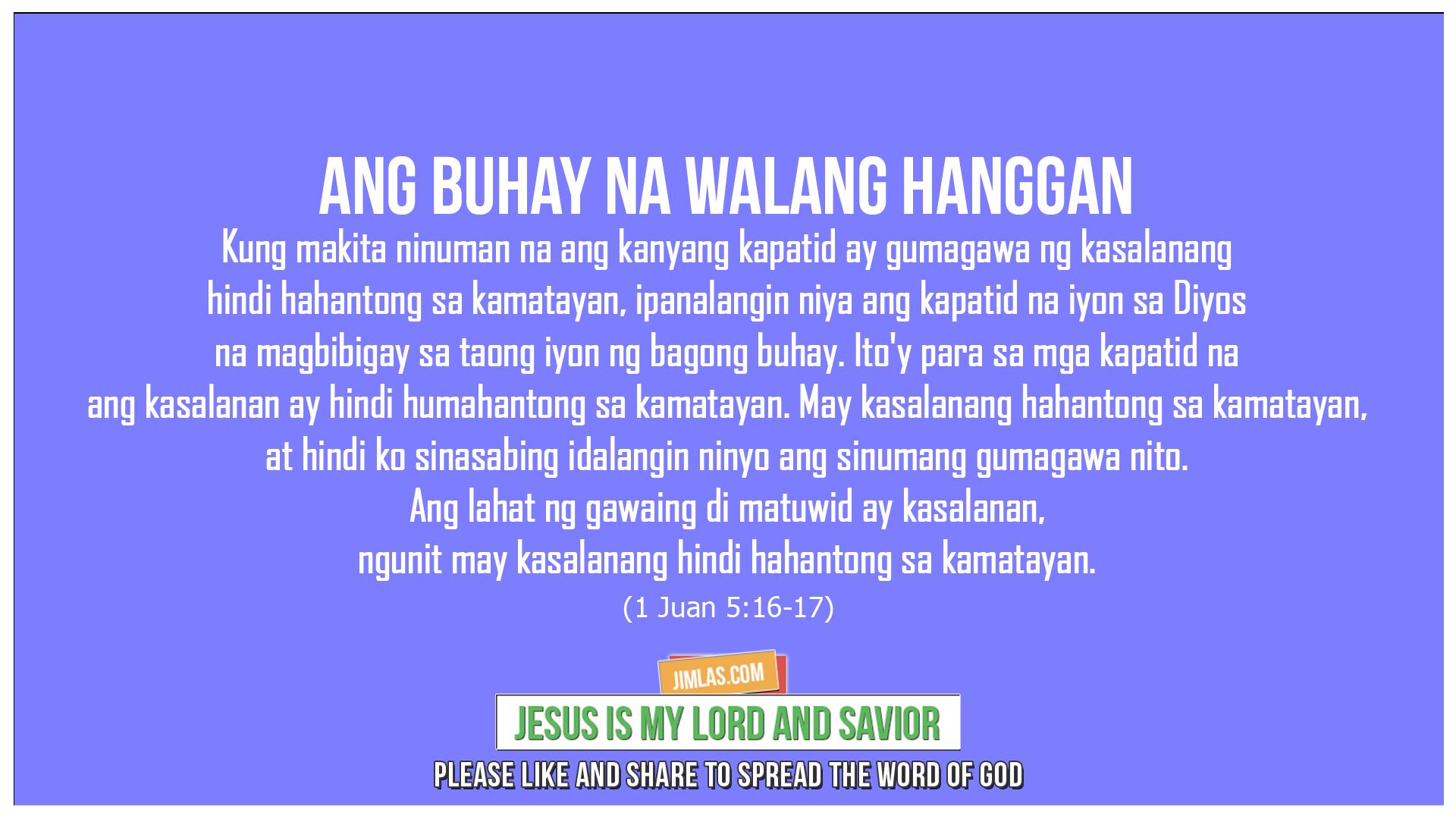 1 Juan 5:16-17, 1 Juan 5:16-17