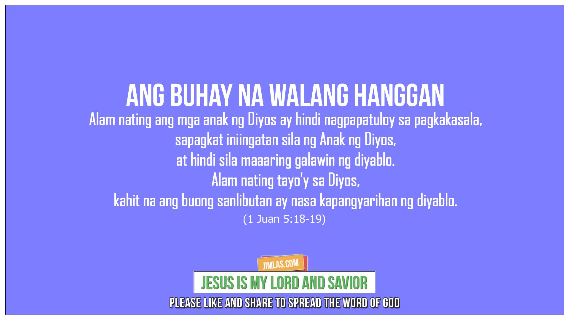 1 Juan 5:18-19, 1 Juan 5:18-19