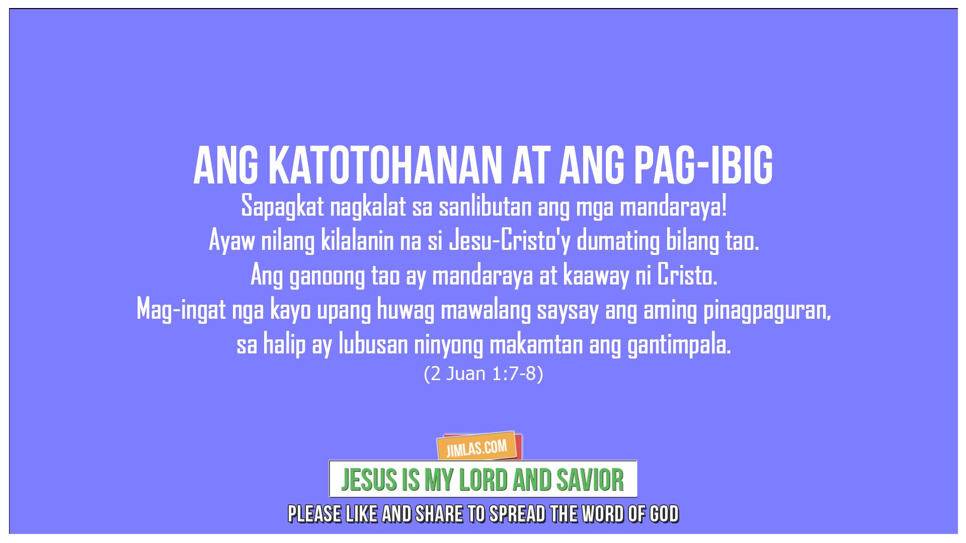 2 Juan 1:7-8, 2 Juan 1:7-8