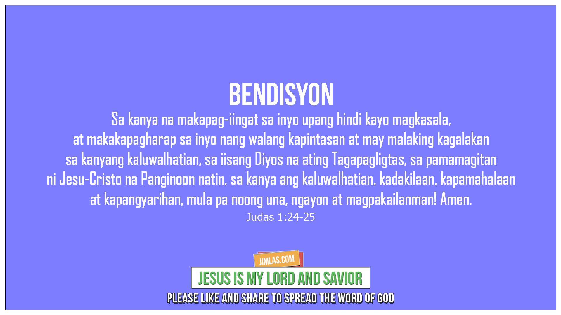 Judas 1:24-25, Judas 1:24-25