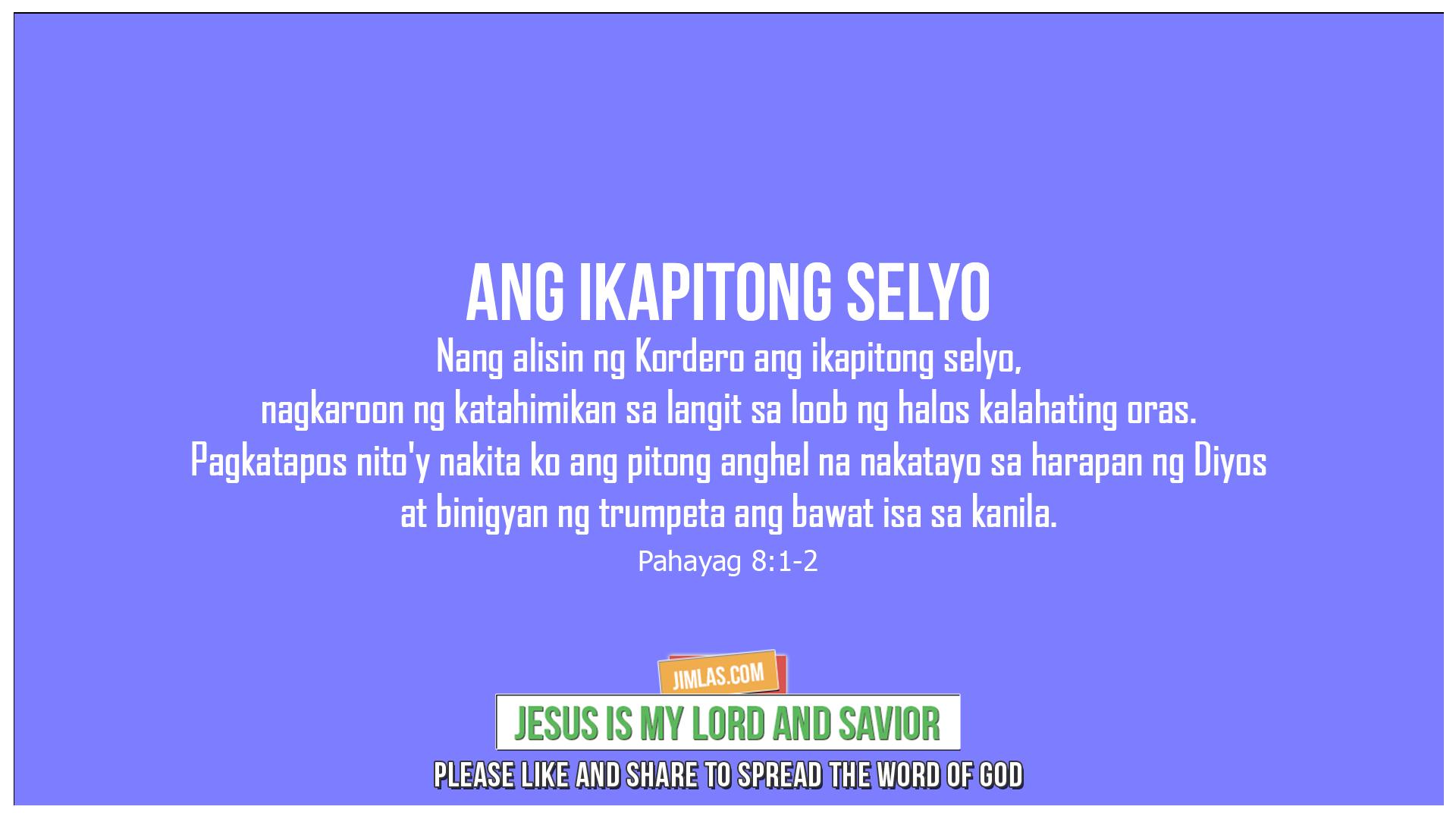 Pahayag 8:1-2, Pahayag 8:1-2