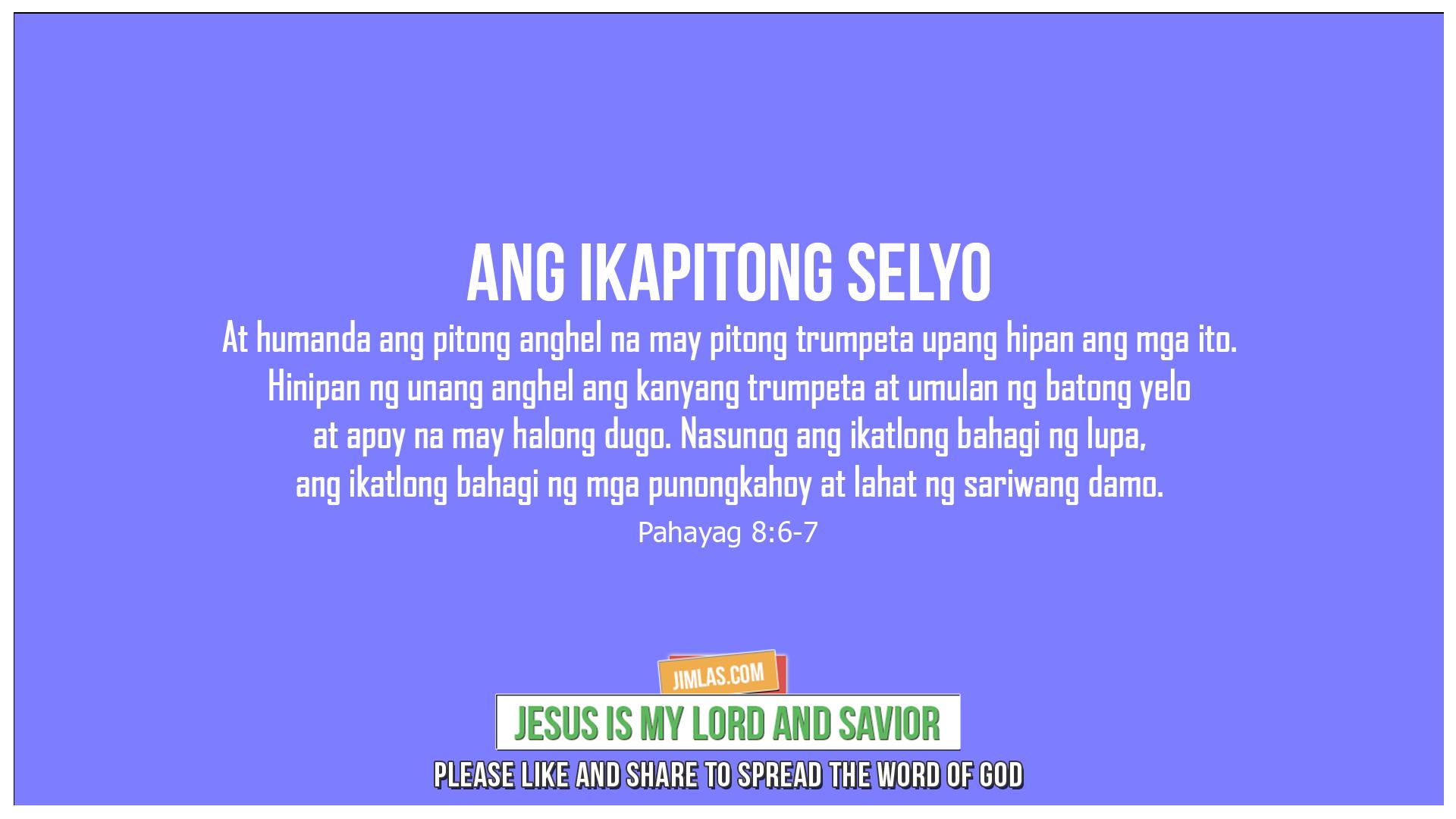 Pahayag 8:6-7, Pahayag 8:6-7