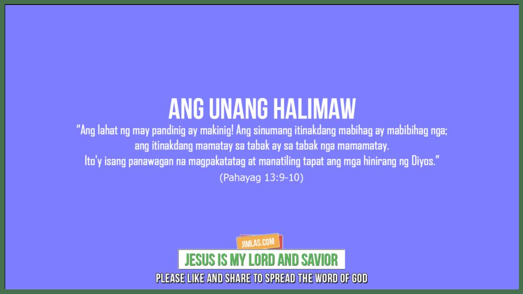 Pahayag 13:9-10, Pahayag 13:9-10