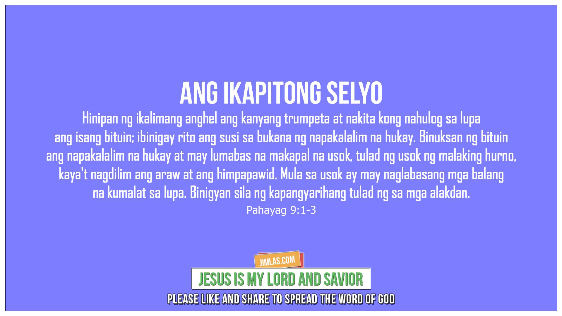 Pahayag 9:1-3, Pahayag 9:1-3