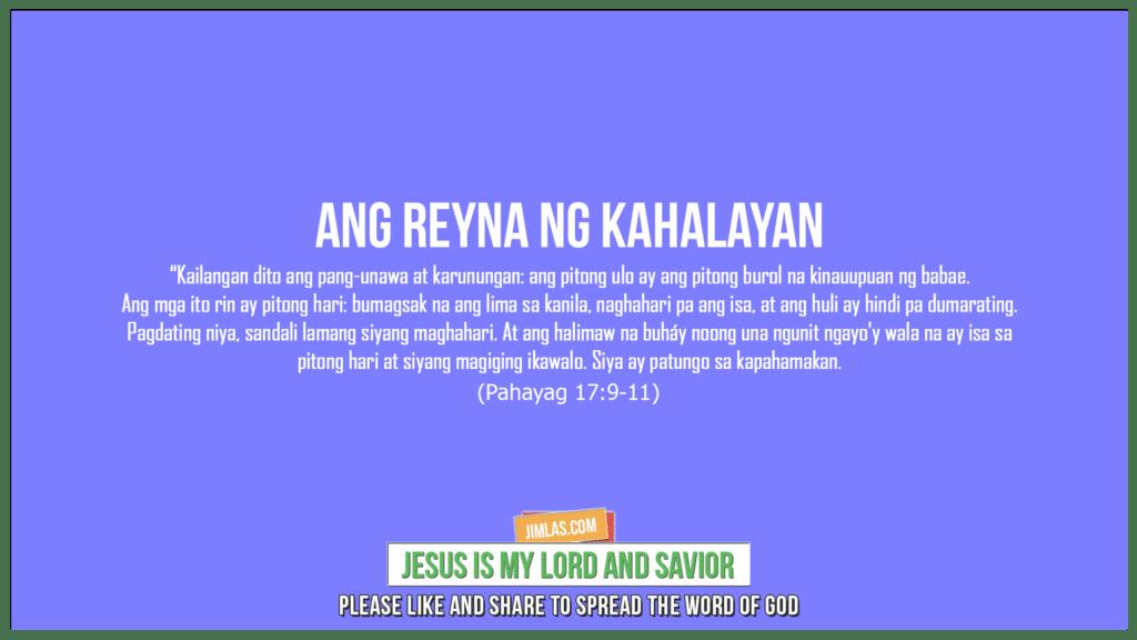 Pahayag 17:9-11, Pahayag 17:9-11