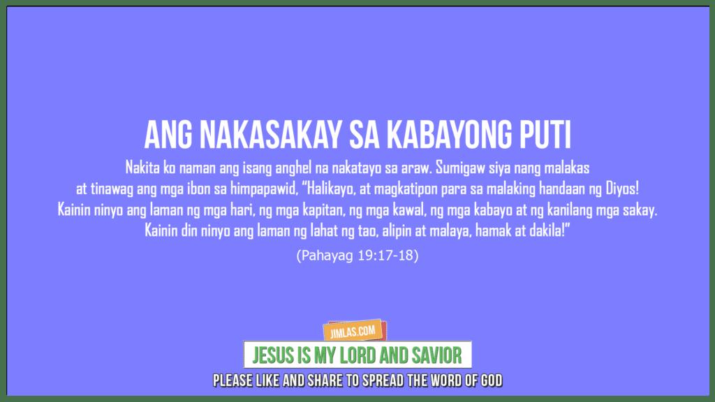 Pahayag 19:17-18, Pahayag 19:17-18