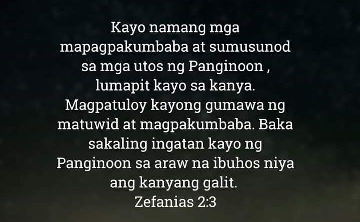 Zefanias 2:3, Zefanias 2:3