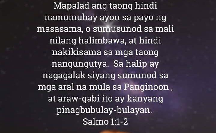 , Salmo 1:1-2