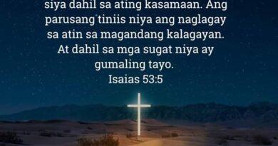 , Isaias 53:5