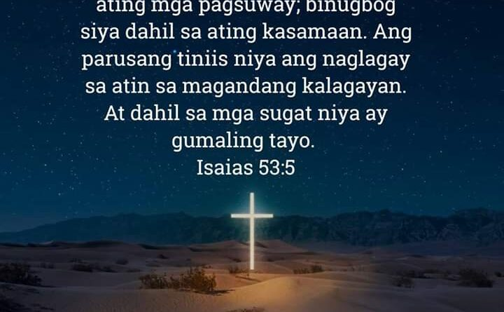 Isaias 53:5