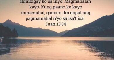 , Juan 13:34