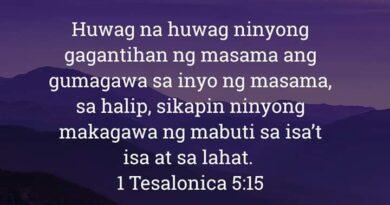 1 Tesalonica 5:15, 1 Tesalonica 5:15