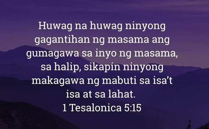 1 Tesalonica 5:15