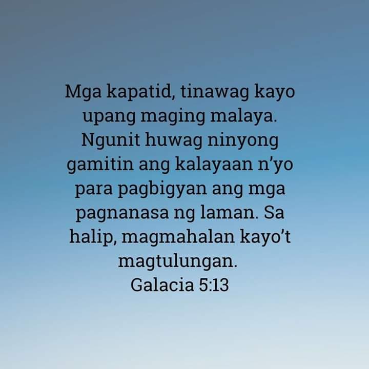 Galacia 5:13, Galacia 5:13