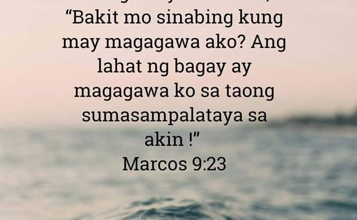 Marcos 9:23, Marcos 9:23